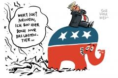 US-Republikaner und Trump: Vier Jahre zu spät