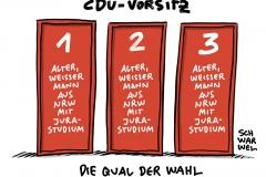 CDU-Parteivorsitz: Stunde der Entscheidung für Merz, Laschet oder Röttgen