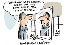 Pandemie in Deutschland: Corona-Erschöpfung der Bevölkerung