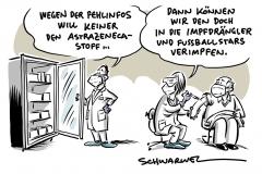 """Ethikratsvorsitzende: Sanktionen für """"Impfdrängler"""" denkbar, Keine Zeit fürs Zögern: Auch Astrazeneca rettet Leben"""