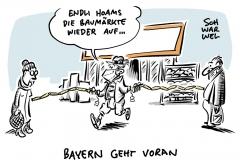 Bayern lockert: Gartencenter und Baumärkte dürfen öffnen