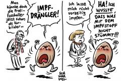 Kanzlerin gegen Vorzugsbehandlung: Merkel will sich nicht vorzeitig impfen lassen
