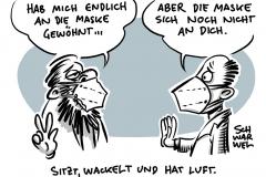 """FFP2-Masken bei Stiftung Warentest: Nur Maske """"Aura"""" passt allen Probanden"""