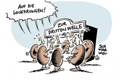 Steigende Corona-Zahlen: RKI-Präsident Wieler sieht dritte Welle schon in vollem Gange