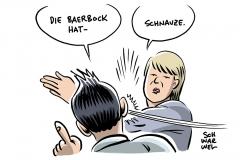 """Plagiatsvorwürfe: Linkenchefin Hennig-Wellsow verteidigt Baerbock gegen """"Schmutzkampagne"""""""