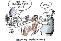 """""""Kreativere Impfangebote"""": Experten fordern mehr Impfen to go"""