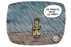 """Umweltministerin Svenja Schulze: """"Der Klimawandel ist in Deutschland angekommen"""""""