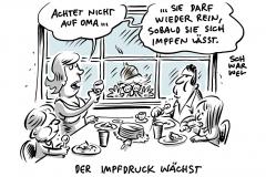 Corona-Kontaktbeschränkungen für Ungeimpfte: Mehrheit der Deutschen will mehr Impfdruck