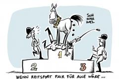 Harte Kritik am Umgang mit Tier: Pferde-Drama kostet Schleu die Chance auf Gold