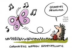 Coronavirus in Deutschland: Kostenlose Corona-Tests nur noch bis 11. Oktober
