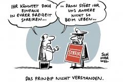 Deutsche Bahn: GDL-Streik legt Personenverkehr weitgehend lahm