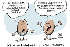 Verordnung in Baden-Württemberg: Abkehr von der Corona-Inzidenz