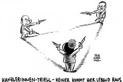 """Triell der Kanzlerkandidaten: """"Baerbock hat am meisten gepunktet"""""""