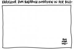 """""""Aus Termingründen"""" abgesagt: """"Bild am Sonntag"""" druckt weiße Seite statt Baerbock-Interview"""