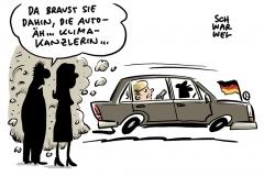 Merkel und die Autoindustrie: Mehr Auto- als Klimakanzlerin