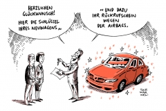 schwarwel-karikatur-neuwagen-rueckrufaktion-airbag