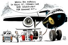schwarwel-karikatur-lufthansa-kerosin-preise-flugzeuge
