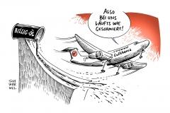 karikatur-schwarwel-lufthansa-oel-billigoel