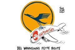 Luftfahrt: Seehofer fordert Übernahme von Air Berlin durch Lufthansa