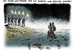 schwarwel-karikatur-fluechtlinge-europa-eu-fluechtlingspolitik