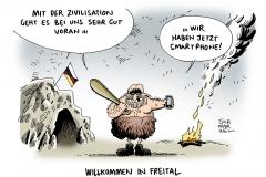 schwarwel-karikatur-freital-auslaenderfeindlichleit-fluechtlinge-angriff