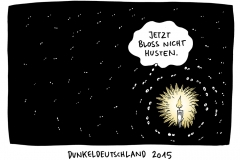 schwarwel-karikatur-dunkeldeutschland-merkel-gauck-bundesregierung-fluechtlingspolitik