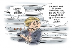 schwarwel-karikatur-krise-finanzkrise-fluechtlingskrise-merkel