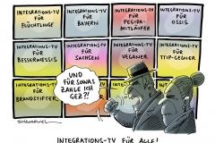 schwarwel-karikatur-integration-gez-bayern-fluechtlinge-tv-sachsen-seehofer
