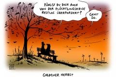 schwarwel-karikatur-fluechtlinge-krise-ueberforderung-deutschland