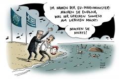 karikatur-schwarwel-grenze-seegrenze-griechenland-fluechtlinge