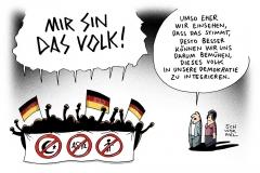 karikatur-schwarel-demo-wirsinddasvolk-hetze-wutbürger-rassismus-flüchtlinge
