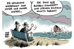 karikatur-schwarwel-fluechtling-fluechtlinge-fluechtlingskrise