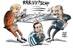 karikatur-schwarwel-merkel-erdogan-griechenland-fluechtlinge