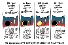 Seehofer: Der Islam gehört nicht zu Deutschland