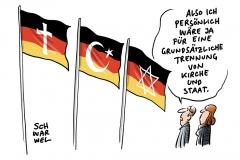 Merkel widerspricht Heimatminister Seehofer in Regierungserklärung: Islam gehört zu Deutschland