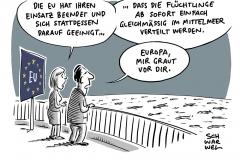 """EU stoppt Operation """"Sophia"""" im Mittelmeer: Keine Einigung über Verteilungsschlüssel"""