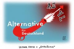 schwarwel-karikatur-afd-asyl-deutschland-alternative-für-deutschland