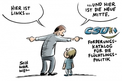 karikatur-schwarwel-csu-afd-nachplapper-papie-seehofer-fluechtlinge-fluechtlingspolitik