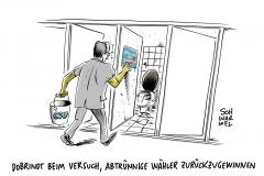 """Dobrindts konservative Revolution der Bürger: CSU will """"Abtrünnige zurückgewinnen"""""""