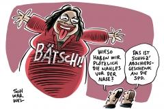 Wechsel an SPD-Spitze: Nahles soll Schulz am Dienstag ablösen