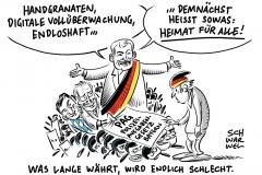 Polizeiaufgabengesetz in Bayern beschlossen: Polizei kritisiert neues Polizeigesetz