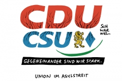 Flüchtlingsfrage: Koalition in Zerreißprobe wegen Unionsstreit