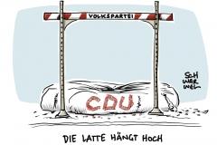 CDU-Parteitag in Hamburg: Wahl zum neuen Parteivorsitz