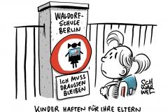 Waldorfschule Berlin: Schulleitung weist Kind eines AfD-Abgeordneten ab