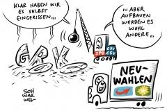 Rücktritt von Andrea Nahles: Regierungskoalition scheint am Ende