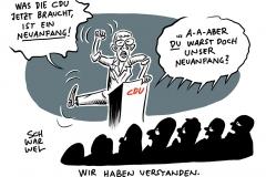 CDU nach der Europawahl: Suche nach Wegen aus der Krise
