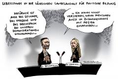 schwarwel-karikatur-pegida-bachmann-oertel-fluechtlinge