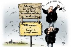 schwarwel-karikatur-troegnitz-buergermeister-neonazi