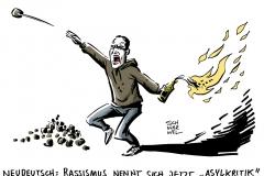 schwarwel-karikatur-nationalsozialismus-asylpolitik-fluechtlinge-rassismus