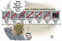schwarwel-karikatur-feindbild-hasstag-angstdebatte-fluechtlinge-radikalisierung-attentat-koeln